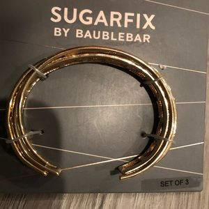 SUGARFIX by BAUBLEBAR Gold Stacked Braclets